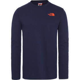 The North Face Easy LS Tee Herren montague blue